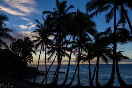 Sunrise in Big Island