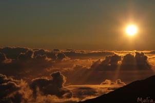On top of Haleakalā