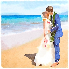 Our hawaiian wedding
